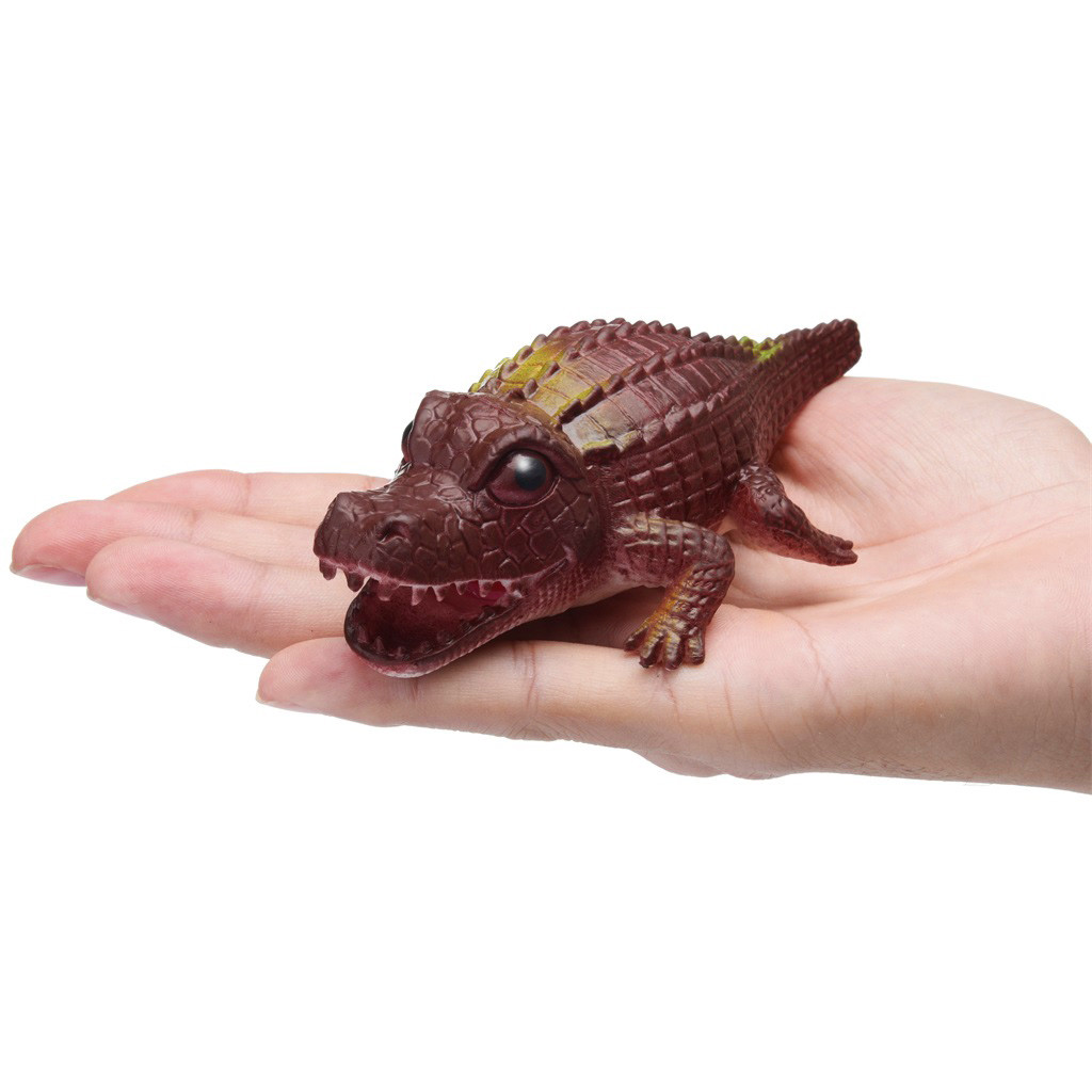 Crocodile Pops Out Leg if Squeeze 14cm Stress Relief Funny Toys 13