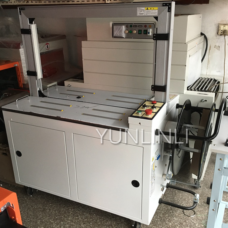 MH-101A Automatic Wrapping Machine 220V/380V Packing Machine Cardboard Packing Tape Pautomatic Cardboard Strapping Machine цены онлайн