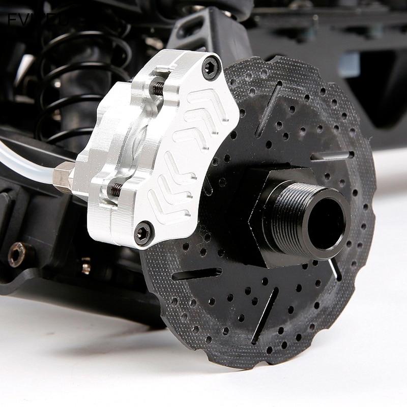 Jeu de freins à disque hydrauliques FVITEU pour roue avant pour moteur Rovan King 1/5 HPI Baja 5B SS - 3
