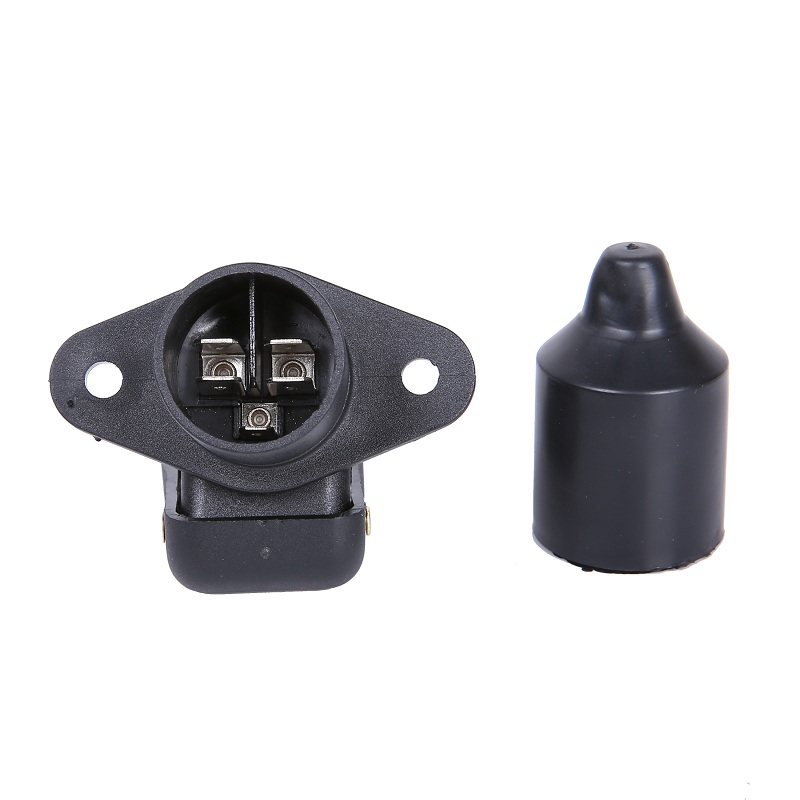 Image 3 - 1 pc  AOHEWEI  3 Pin Plastic Trailer Socket European Standard Auto Parts 12V 3 Pin Trailer Connectors  3 way for Truck  Caravan-in Cables, Adapters & Sockets from Automobiles & Motorcycles