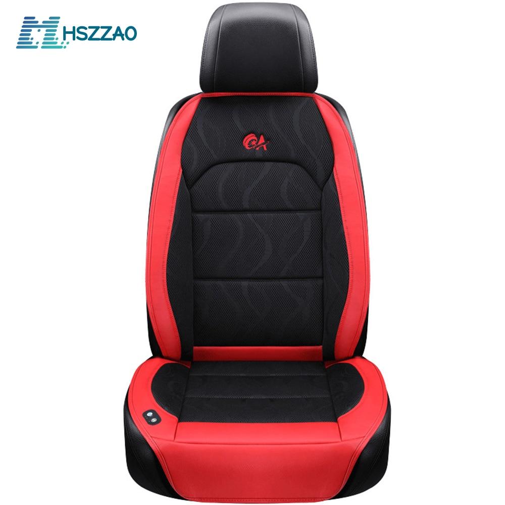 Car-Seat-Cushion Cooling Vest Summer with Fan 6-Fan 2-Massage