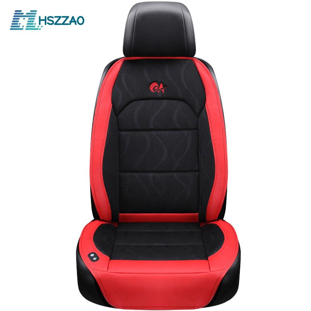 6 вентилятор + 2 массажа, летняя подушка для сиденья автомобиля, воздушная подушка с вентилятором, чехол на сиденье автомобиля, охлаждающий ж...