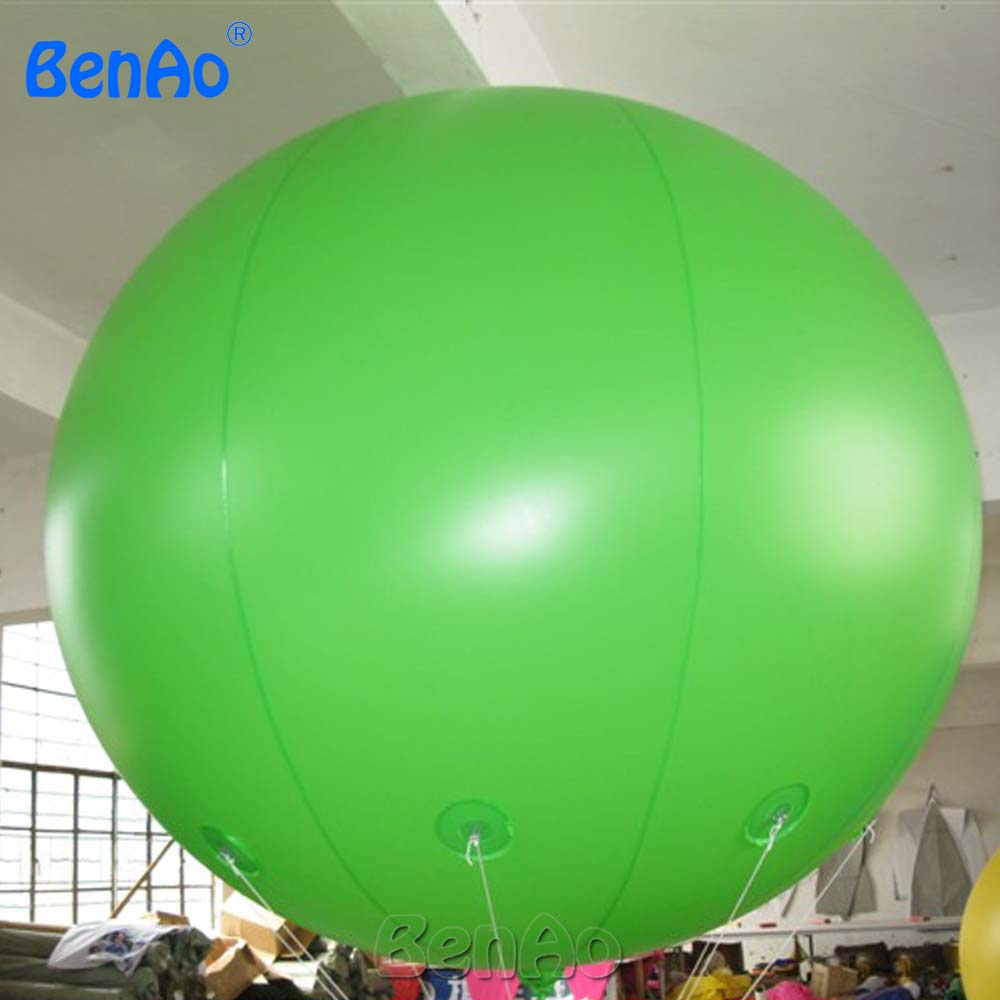 AO058K   2M hot selling inflatable advertising  Helium Balloon Ball PVC  helium balioon / inflatable sphere/sky balloon for sale