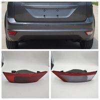 Car Rear Bumper Reflector Light For Ford Focus 2009 2014 For Ecosport 2013 2015 Hatchback Tail