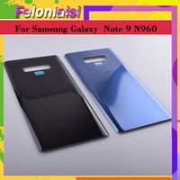 "galaxy note 10Pcs 6.3"" Back Glass Replacement For Samsung Galaxy Note9 Note 9 N960 N960F N960P Battery Cover Rear Door Housing Case Shell (3)"