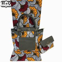 6df90acb9 Juego de bolsas de cera africana de alta calidad de 30 diseños, tela  holandesa de cera súper y cera de algodón 6 yardas a juego .