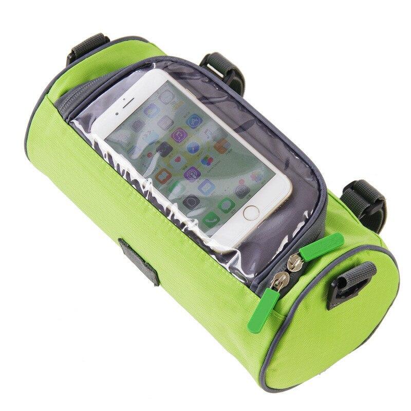 New Tool Bags Multifunctional Bicycle Handlebar Bag Zipper Waterproof Shoulder Bags Package Exterior 25 * 12.5 * 12.5CM