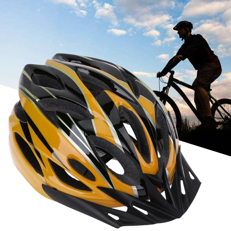 Adult Bicycle Helmets Ultralight 18 Air Vents Bike Helmet Men Women Mountain Road Bike Integrally Molded Cycling Riding Helmets