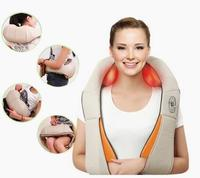 U Shape Electrical Shiatsu Body Back Neck Shoulder Massager Infrared Heated Kneading Cervical Massage Device Car/Home Dual Use