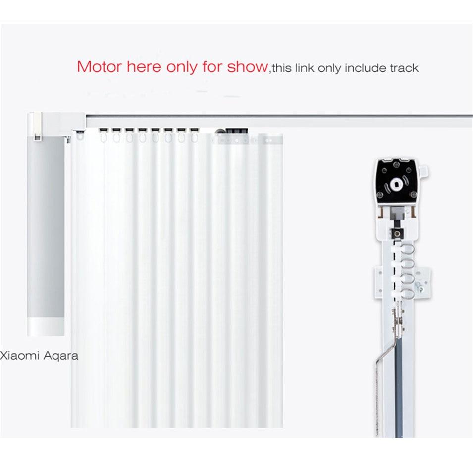 4.5M Xiaomi Super Silent Electric Curtain Track for Mijia Aqara Motor,Automatic Curtain Rails/Cornice,Ceiling Instal,Double Open