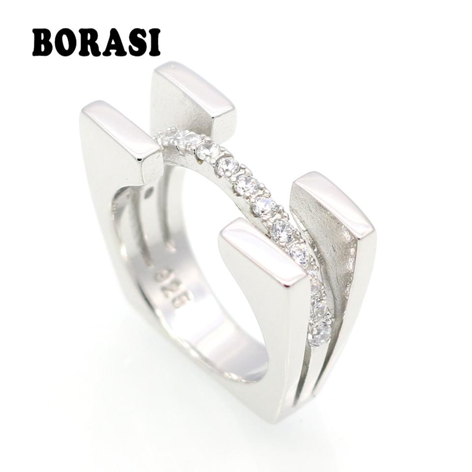 Módní luxusní značky šperky nový příchozí vícebarevný prsten pro ženy zlato / bílé / růžové zlato barvy s AAA zirkonové prsteny Anillos