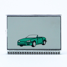 TZ9010 Lcd Display for Russian 2 Way Car Alarm LCD Remote Co