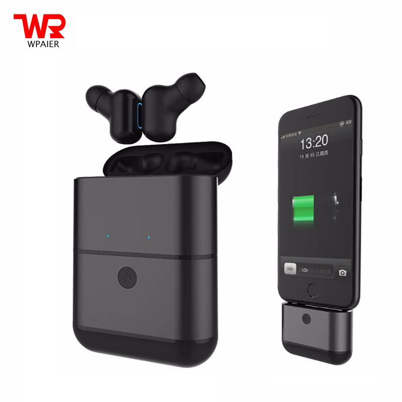 WPAIER X2-TWS Wireless Bluetooth Headphones Sport waterproof IPX5 mini headset Portable with Charger Box Universal MultifunctionWPAIER X2-TWS Wireless Bluetooth Headphones Sport waterproof IPX5 mini headset Portable with Charger Box Universal Multifunction
