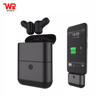 WPAIER X2 TWS Wireless Bluetooth Headphones Sport waterproof IPX5 mini headset Portable with Charger Box Universal Multifunction