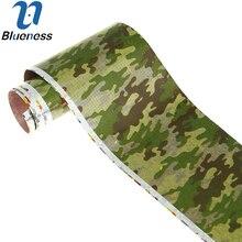Blueness Nails Supplies 1 Sheet Water Transfer Foil Roll Sticker Decal Polish Nail Art Decoration Camouflage Design