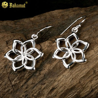 Fashion Elf Flower Earring For Women Lovely Girls Gift 925 Sterling Silver Jewelry A Pair Sale Lord of The Ring