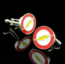 Superhero CuffLinks superman ironman spiderman starwars