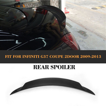 2007-2013 G37 JC styling car rear spoiler for infiniti,rear trunk wing for G37(fit G37 2 door coupe) стоимость