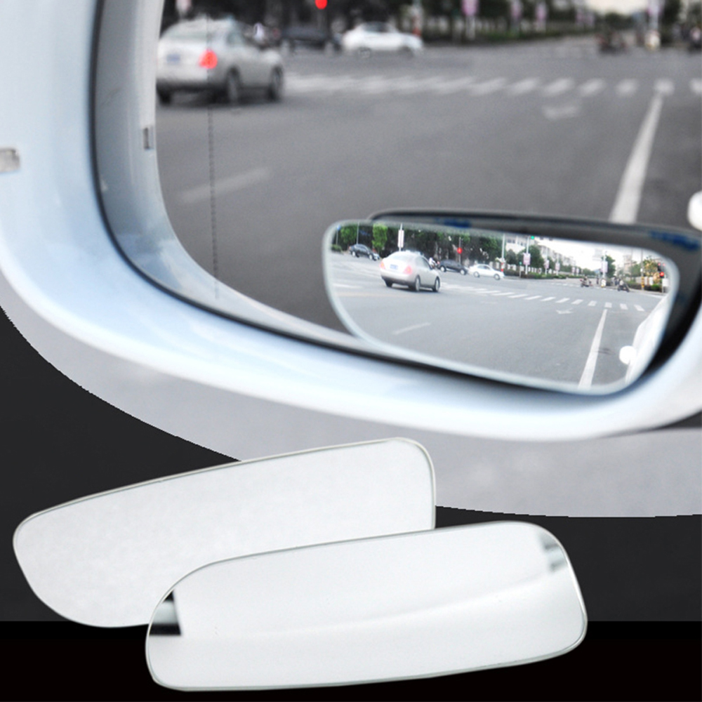 Adjustable Auxiliary Blind Mirror Motorcycle Wide Angle SUVs Rearview