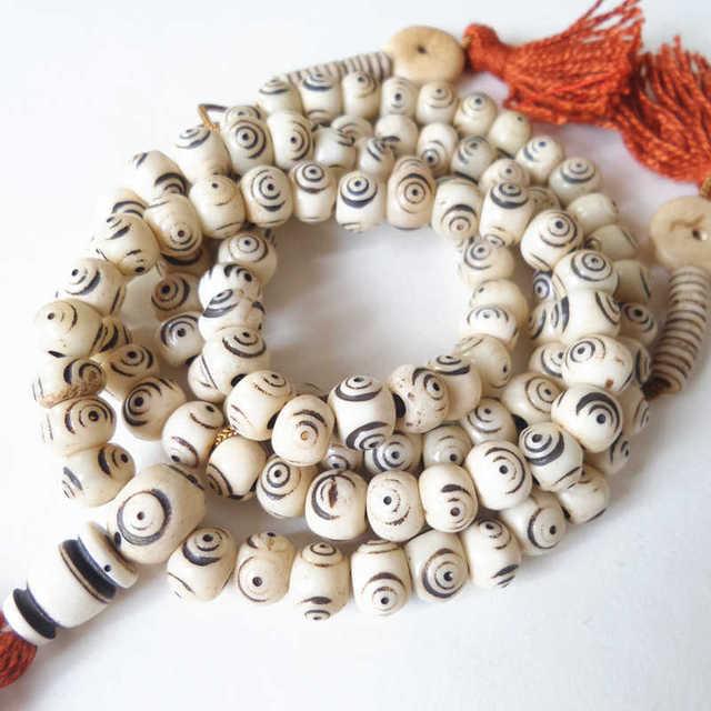 Bracelet Tibetain En Os
