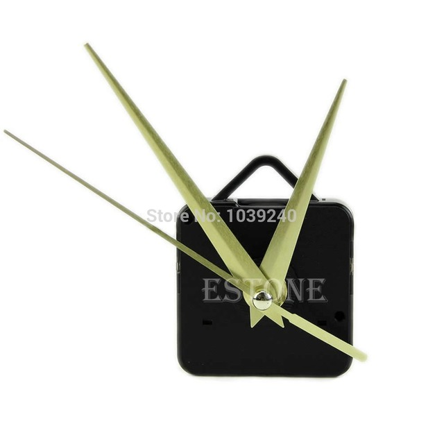 E74 Movement Clock Parts And Accessories Quartz Clock Movement Mechanism Hands DIY Repair Parts Kit 02