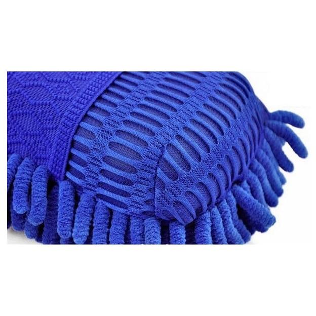 HOT GCZW-Car Hand Soft Towel Microfiber Chenille Washing Gloves Coral Fleece Gloves Auto