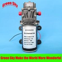 8L/Min. 9m Range 100W high pressure water diaphragm pump 12v self for car washing,medical,chemical equipment,lawn and garden