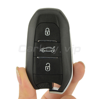 Remotekey Original Smart key remote keyless entry 3 button 433.92 mhz ID46 PCF7953 chip for Citroen DS4 DS5