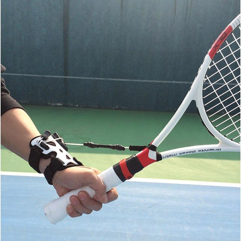 Tenis przyrząd szkoleniowy, dzięki czemu możesz się z tobą trener służyć kulki maszyna do ćwiczeń do samodzielnej nauki na właściwy telefon na rękę postawy akcesoria w Akcesoria do tenisa od Sport i rozrywka na AliExpress - 11.11_Double 11Singles' Day 1