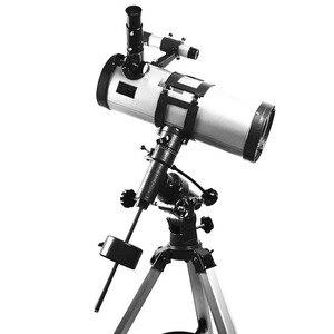 Image 2 - Visionking 1000 114mm Equatorial Mount Space Astronomical Telescope High Power Star/Moon/Saturn/ Jupiter Astronomic Telescope
