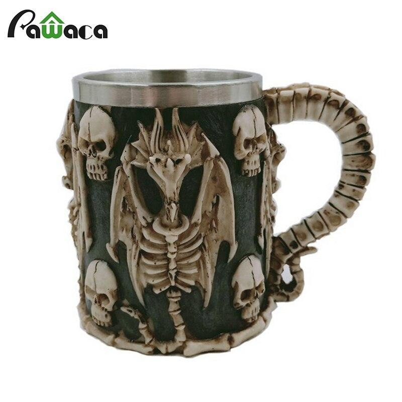 Chope de bière Ptérosaure Squelette