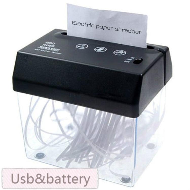 Совершенно новый Настольный мини-Измельчитель Usb формата А5 или А4 в сложенном виде для дома/офиса, доставка без батарей title=