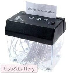 Совершенно новый Настольный мини-Измельчитель Usb формата А5 или А4 в сложенном виде для дома/офиса, доставка без батарей