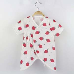 Jumpsuit Body-Suit Baby-Boy-Clothes Butterfly Infant Rompers Newborn-Baby Print Cotton