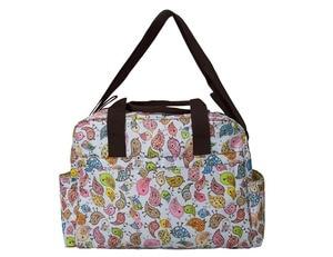Image 3 - Mommore 5 pièces/ensemble Nappy sacs comprend sac à langer matelas à langer sac de maternité momie transparent sac de poussette bébé étanche