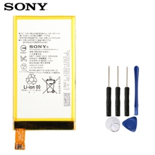 Original SONY Battery For Sony Xperia Z3 Compact mini C4 M55W D5833 Z3MINI LIS1561ERPC Replacement Phone 2600mAh