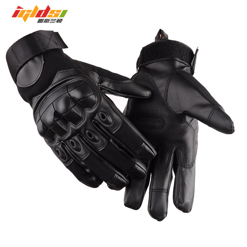 Army Combat Tactical Gloves Men SWAT Special Forces Shoot Military GYM Gloves Knuckle Full Finger Fight Paintball Gloves(China)