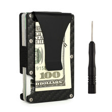 Anti Protect Blocking Rfid Wallet Portable Credit Card Holder ID Cardholder Men Women(China)