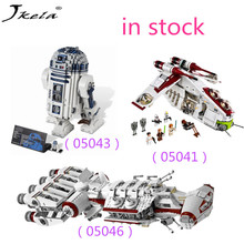 [Hot] Legoingly Star Wars Series 05041 05043 05046 building block toys for children Compatibility with Legoingly Star Wars