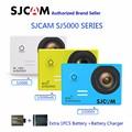 Série sj5000 sjcam sj5000 & sj5000 wifi & sj5000x elite wifi 4 k giroscópio esportes de ação camerar
