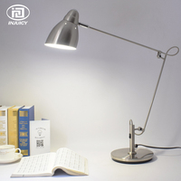 LOFT Simple Long Arm LED Desk Lamp Office Computer Bedroom Drawing Reading Adjust Table Lights