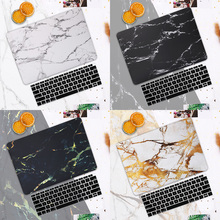 Marble Texture Hard Case Shell for MacBook Pro 13 Inch Newest A1706 With Touch Bar & Touch ID Print Case for Pro 13 A1708 Cover