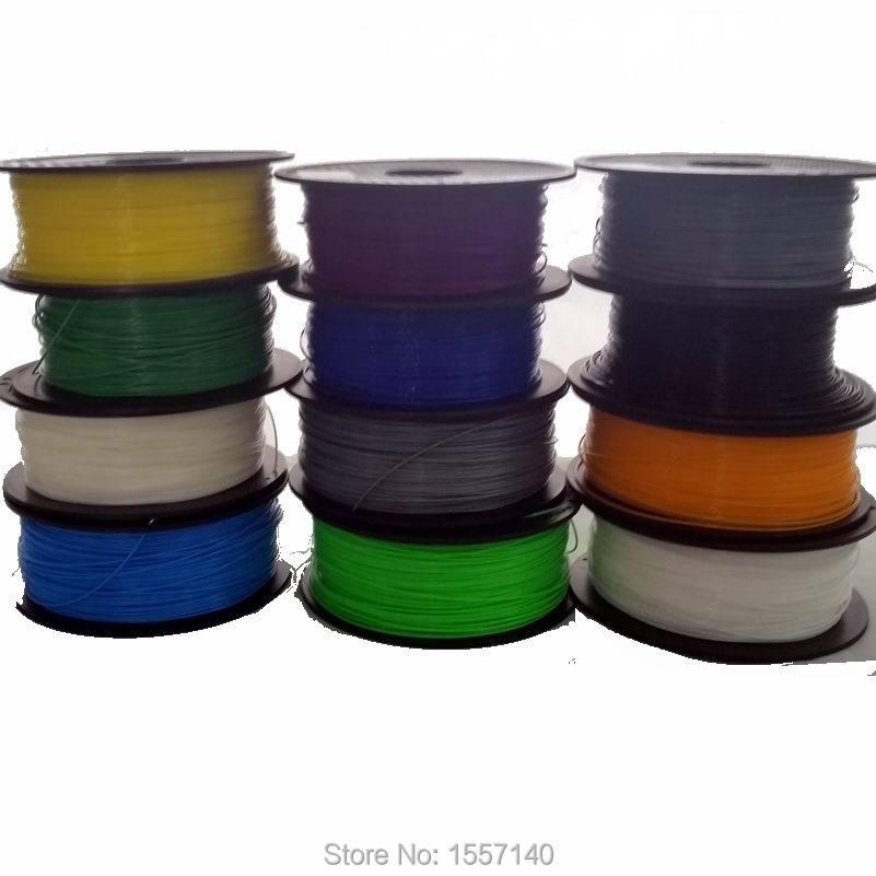 SENHAI3D 0.5KG 3D Printer Filament ABS 1.75mm 20 Colors 200M 3D Printing Materials For 3D Pen 3D Printer green red purple yellow blue colour diy painting prints 3d printer filament abs 1 75mm luminous environmental materials