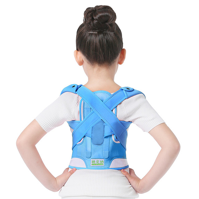 Children Kid Adjustable Magnetic Posture Corrector Back pain shoulder Support orthopedic corset Lumbar Brace Spine Support belt