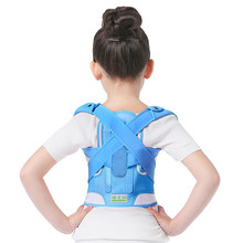 Children Kid Adjustable Magnetic Posture Corrector Back pain shoulder Support orthopedic corset Lumbar Brace Spine Support belt(China)