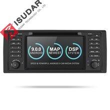 Isudar 2 Din Auto Radio Android 9 Per BMW 5 Series/X5 E53 E39 CANBUS Car Multimedia Video DVD navigazione di GPS di lettore USB DVR FM