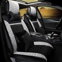 3D Copertura Seggiolino Auto Cuscino Generale Verde Tessuto Car Styling Per Porsche Cayenne SUV 911 Cayman Panamera Macan