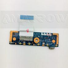 Original frete grátis para toshiba l670d l675d placa de interruptor botão esquerda e direita LS-6042P