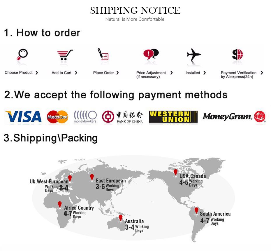 shoping notice