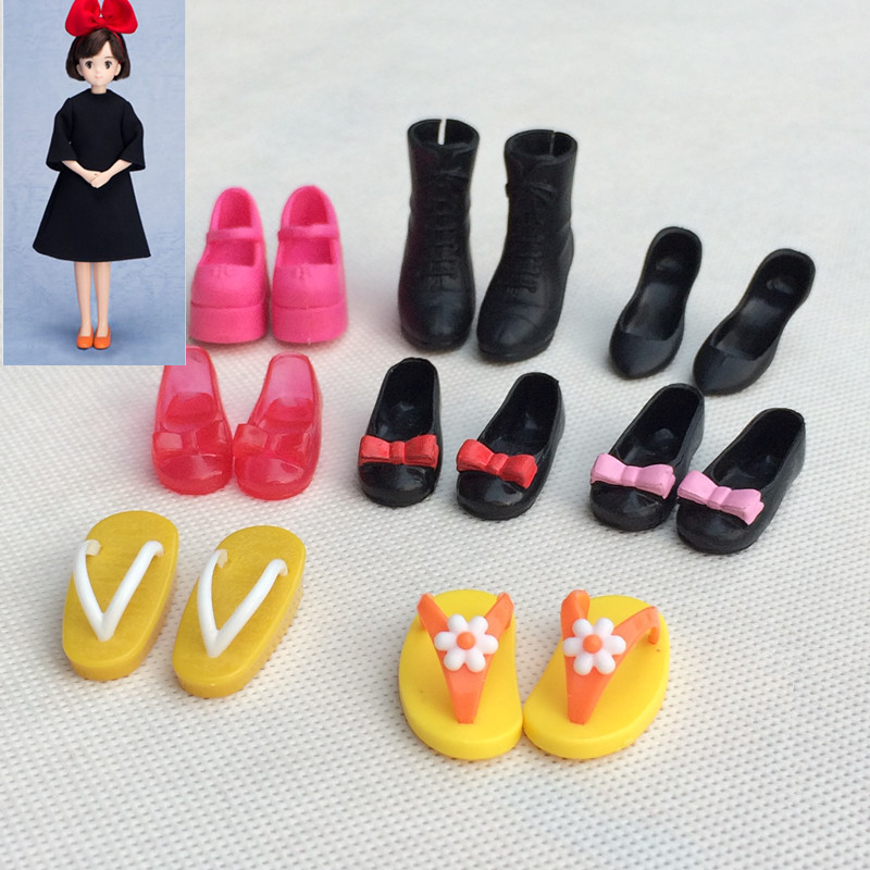 Blyth licca shoes doll 1/6 High-heeled flats doll shoes for licca azone bjd doll kids toys gift Shoes for Blyth Azone OB uncle 1 3 1 4 1 6 doll accessories for bjd sd bjd eyelashes for doll 1 pair tx 03